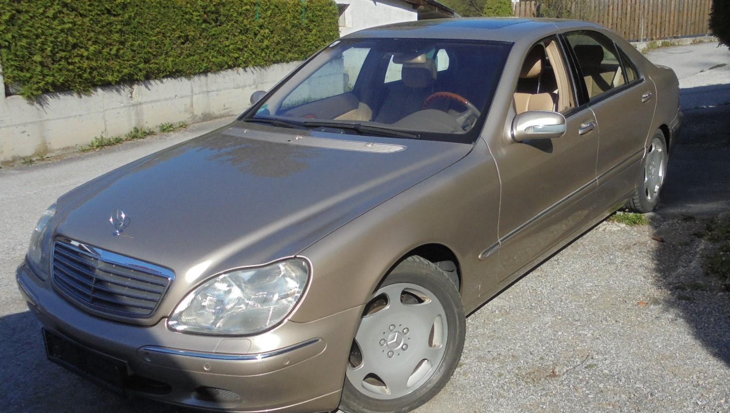 Mercedes Benz 600S  V12 Automatik
