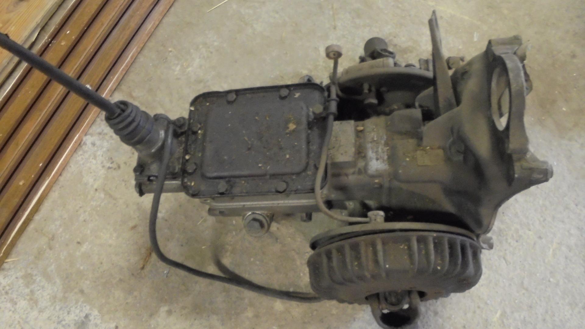 Citroen 2 CV Ente Getriebe